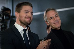 Oliver Queen/Green Arrow & Felicity's father, The Calculator