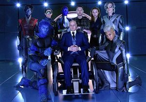 All smiles in new X-Men image