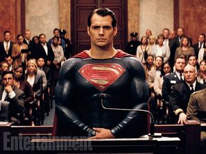 Batman v Superman: Dawn of Justice still - Henry Cavill as S