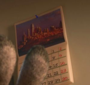 Easter Egg in Zootopia