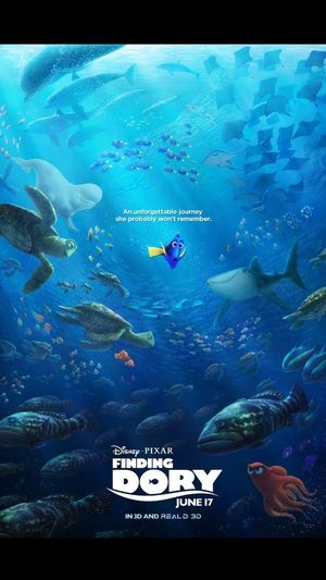 The newest Finding Dory poster!