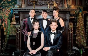 Gotham: Check out the Penguin family portrait, with Paul Reu