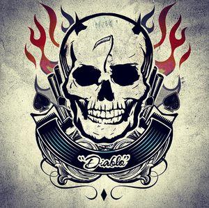 Harley Quinn's Tattoo Parlor Poster - Diablo