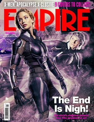 Mystique, Quicksliver X-Men: Apocalypse Empire Cover