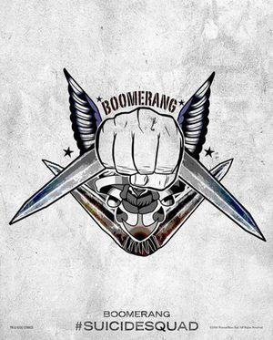 Harley Quinn's Tattoo Parlor Poster - Boomerang