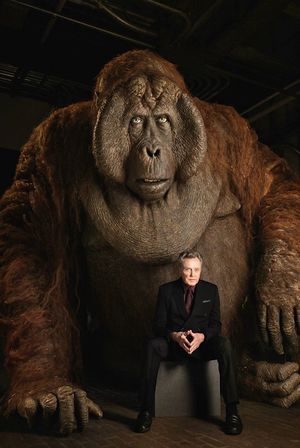 Christopher Walken as the voice of King Louie