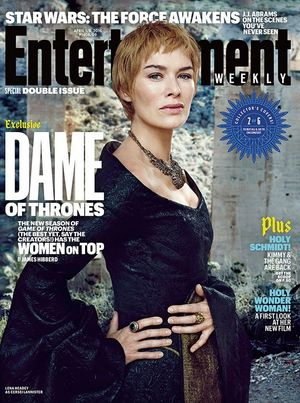 Lena Headey on EW Cover
