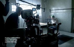 Behind the scenes in Arkham Asylum