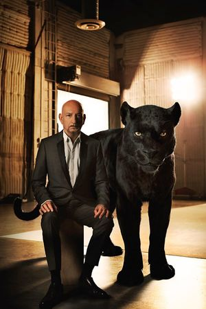 Sir Ben Kingsley as the voice of Bagheera