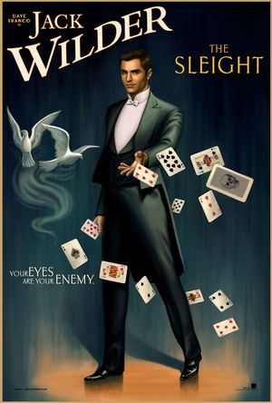 Dave Franco in retro poster for Now You See Me 2