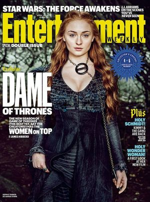 Sophie Turner on EW Cover