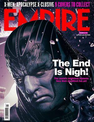 Apocalype X-Men: Apocalypse Empire Cover