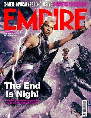 Storm Archangel X-Men: Apocalypse Empire Cover