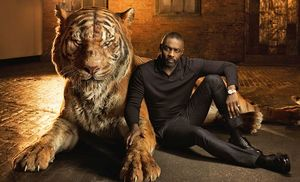 Idris Elba as the voice of Shere-Khan