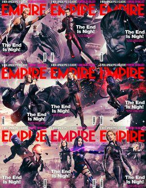 X-Men: Apocalypse Empire cover set