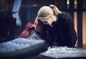 Felicity Smoak, when Thea Queen was attacked