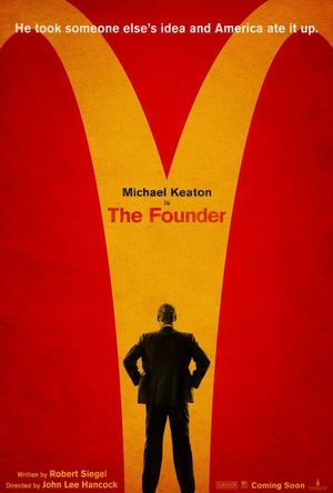 Poster for Michael Keaton's McDonald's Film 'The Founder'