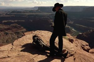 Still from the teaser for Westworld