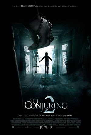 Official poster for The Conjuring 2