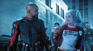 Margot Robbie and Will Smith share a scene in a new image fo