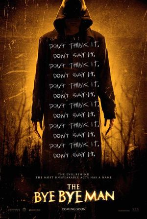 Official poster for The Bye Bye Man