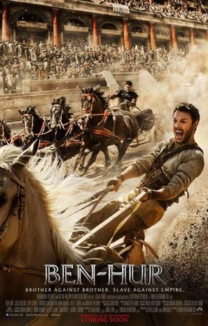 New Poster for Ben-Hur throws us straight into the mayhem