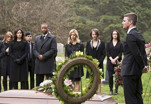 Laurel Lance/Black Canary's funeral
