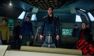 Enterprise Crew in Star Trek Beyond