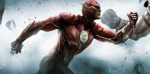 The Flash, as he appears in Injustice: Gods Among Us