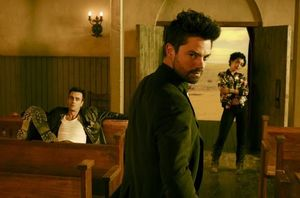 The main trio in 'Preacher'