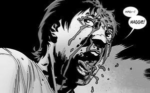 Glenn's fate in The Walking Dead comic