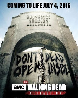 The Walking Dead Attraction Poster