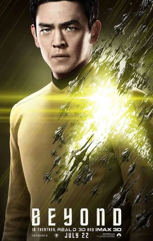 John Cho as Helmsman Sulu in Star Trek Beyond