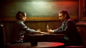 Rachel McAdams and Collin Farrell in True Detective Season 2