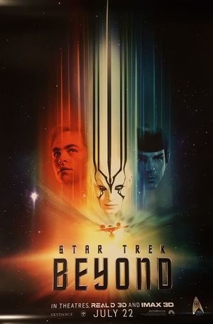 Star Trek Beyond poster lights it up