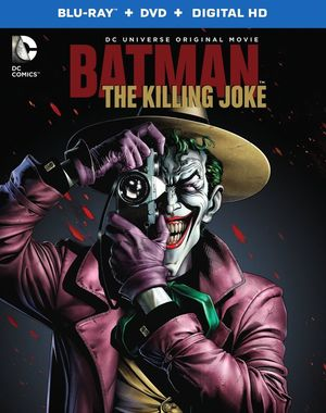 Official box art revealed, 'Batman: The Killing Joke' is out