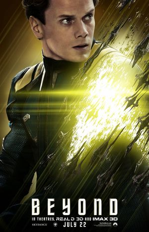 Anton Yelchin as Pavel Chekov in Star Trek Beyond Character