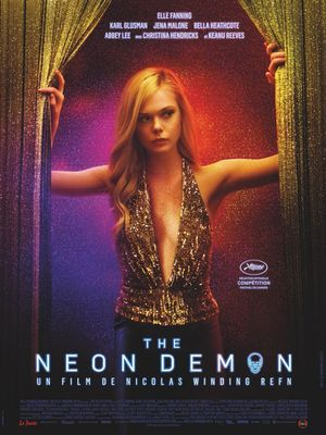 Elle Fanning in the new poster for 'The Neon Demon'
