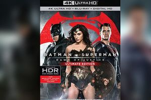 Batman v Superman: Dawn of Justice Ultimate Edition Cover Re