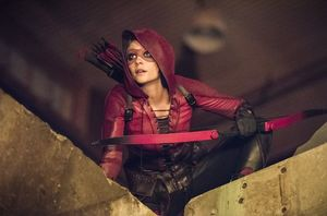 Willa Holland in 'Arrow'