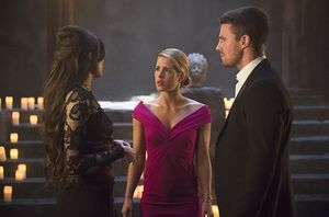Esrin Fortuna, Felicity Smoak, Oliver Queen