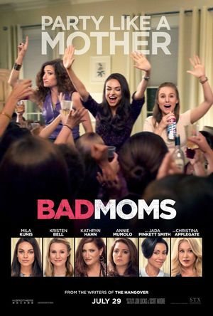 Bad Moms theatrical poster