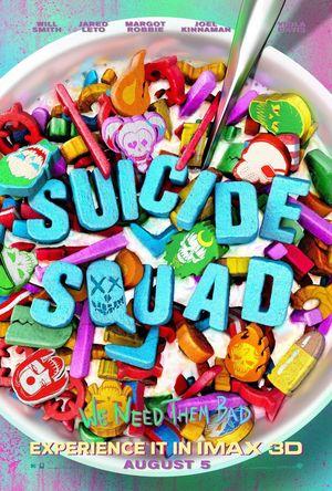 Suicide Squad IMAX poster