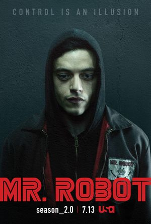 Control is an illusion in the key art released for Mr. Robot