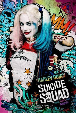 Harley Quinn character poster