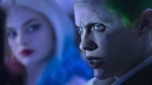 new still of Joker and Harley Quinn from Suicide Squad