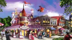 Showcasing Mickey's Avenue at Shanghai Disneyland