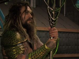 Aquaman and his Trident