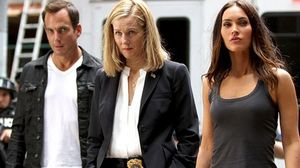 Will Arnett, Laura Linney and Megan Fox in