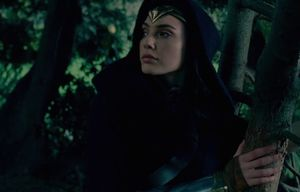 Wonder Woman is elegant and Mysterious